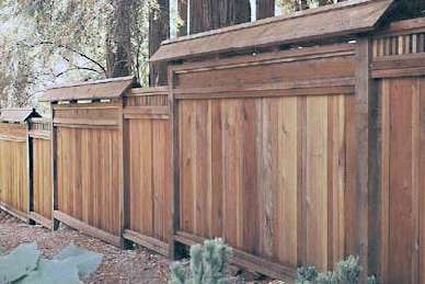 This design featured in a California Redwood Association brochure provided the starting point for our design. Source.