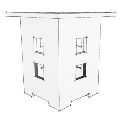 Sketch of the Limbert 234 Side Table