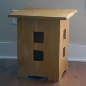 Limbert's No. 234 side table reproduced in pine.