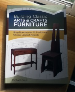 Hot off the presses--my new book on the Arts and Crafts furniture of Charles Limbert.