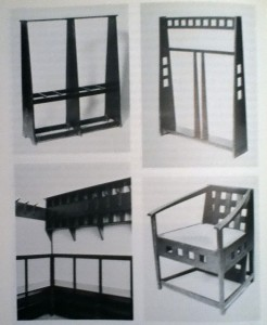 Mackintosh Furniture Sample