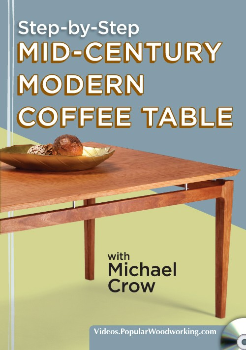 Mid-Century Modern Coffee Table Cover