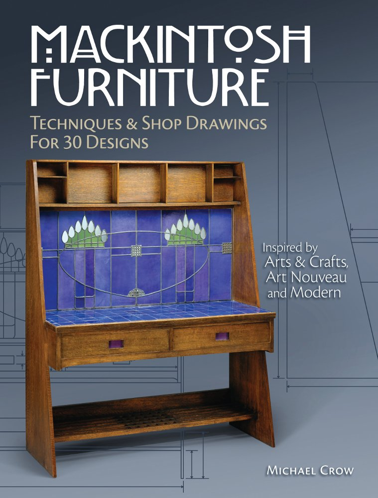 My latest book surveys the furniture of Charles Rennie Mackintosh.