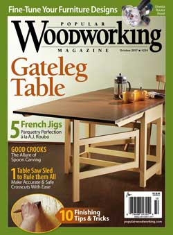 Popular Woodworking cover